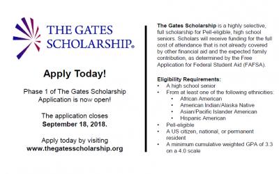 The Gates Scholarship