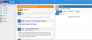 MyPascoConnect dashboard